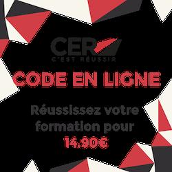 Le code en ligne par CER-Réseau