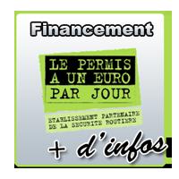 Payer votre permis 1 euro par jour