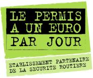agrée permis 1 euro par jours