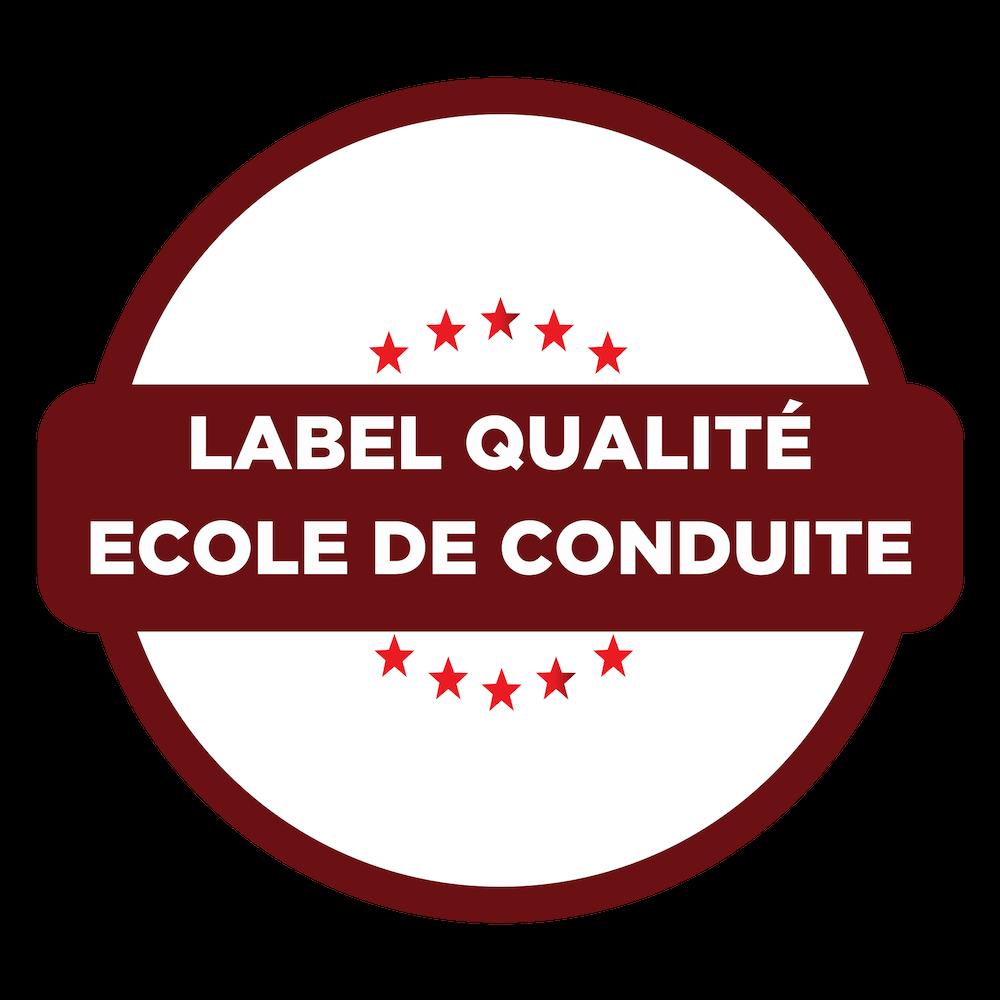 label qualité auto école